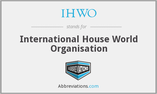 What does IHWO stand for?