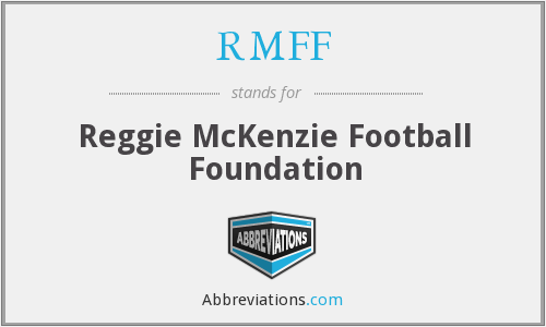 What does RMFF stand for?
