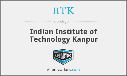 What does IITK stand for?