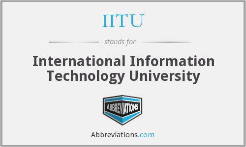 What does IITU stand for?