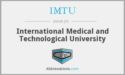 What does IMTU stand for?