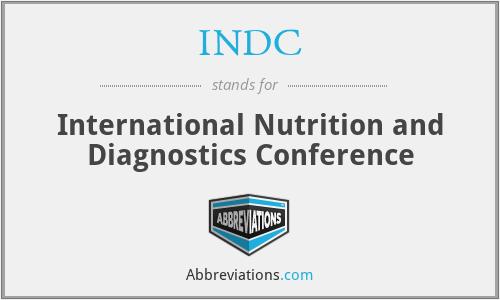 INDC - International Nutrition and Diagnostics Conference