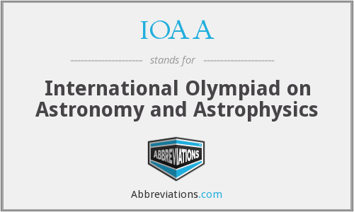 What does IOAA stand for?
