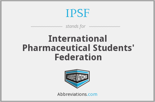 What does IPSF stand for?
