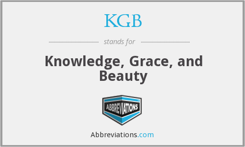 KGB - Knowledge, Grace, and Beauty