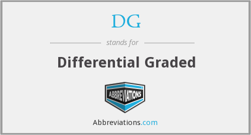 DG - Differential Graded