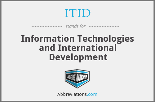 What does ITID stand for?