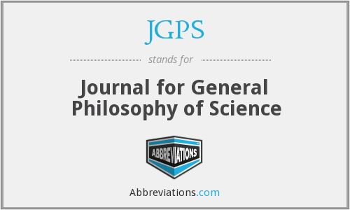 What does JGPS stand for?