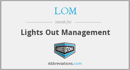 LOM - Lights Out Management