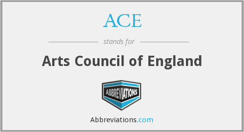 ACE - Arts Council of England