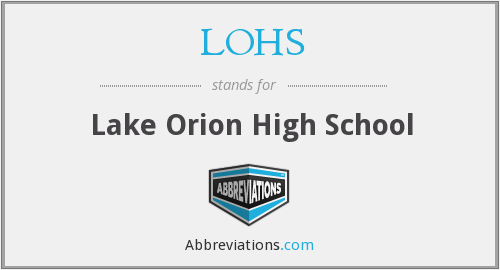 What does LOHS stand for?