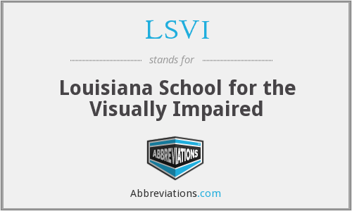 What does LSVI stand for?