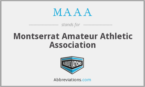 MAAA - Montserrat Amateur Athletic Association
