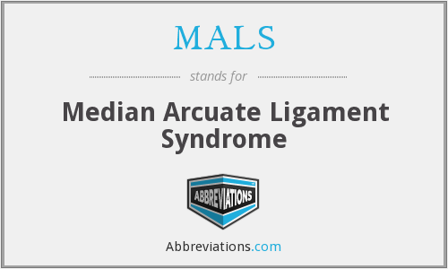MALS - Median Arcuate Ligament Syndrome