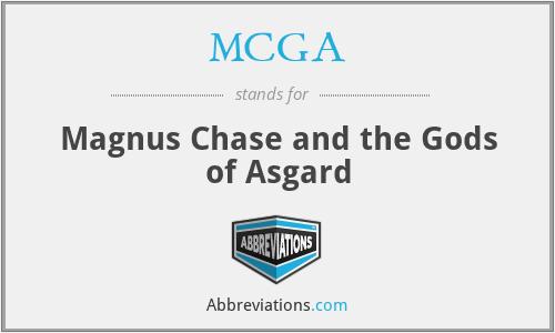 MCGA - Magnus Chase and the Gods of Asgard