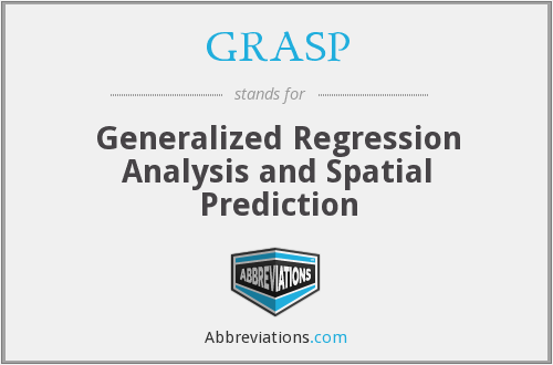 GRASP - Generalized Regression Analysis and Spatial Prediction