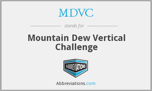 MDVC - Mountain Dew Vertical Challenge