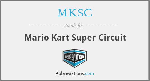MKSC - Mario Kart Super Circuit