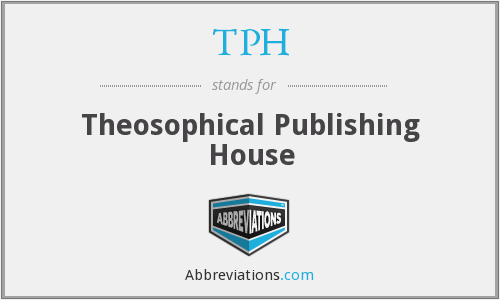 TPH - Theosophical Publishing House
