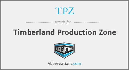 TPZ - Timberland Production Zone