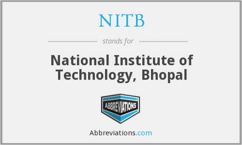 NITB - National Institute of Technology, Bhopal