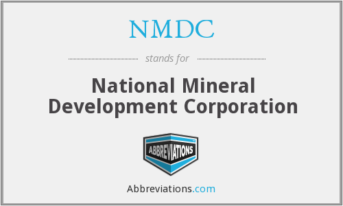 NMDC - National Mineral Development Corporation
