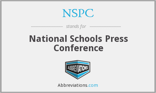NSPC - National Schools Press Conference