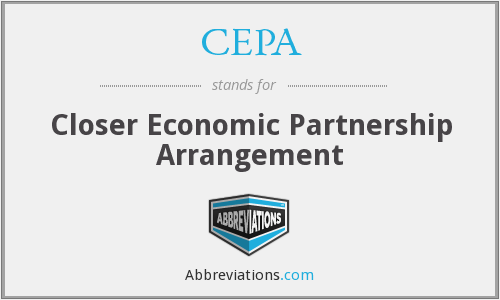 What does CEPA stand for?