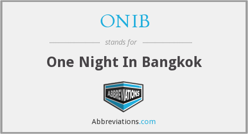 What does ONIB stand for?