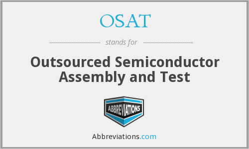 OSAT - Outsourced Semiconductor Assembly and Test