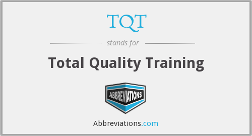 TQT - Total Quality Training