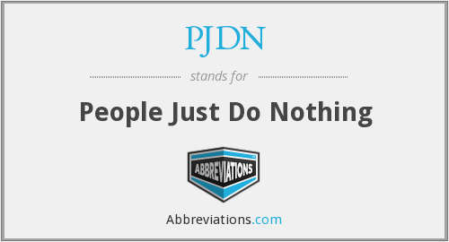What does PJDN stand for?