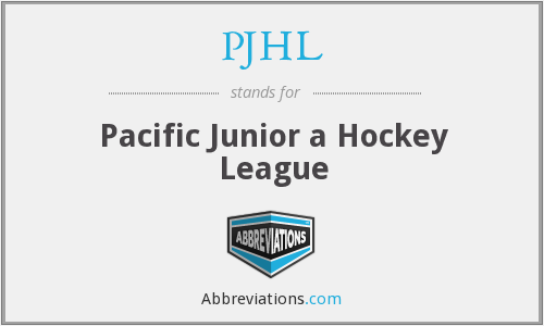 What does PJHL stand for?