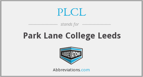 What does PLCL stand for?