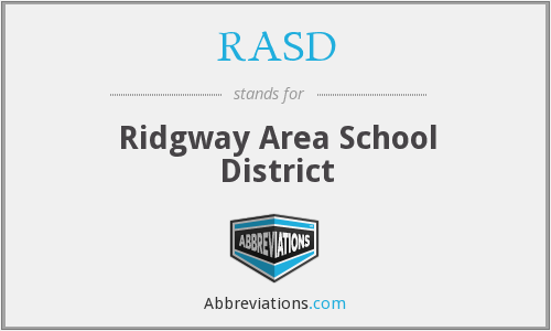 What does RASD stand for?