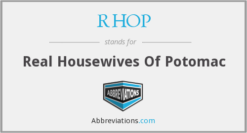 What does RHOP stand for?