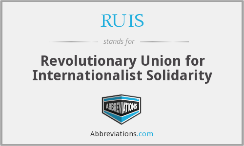What does RUIS stand for?