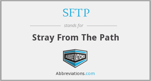 SFTP - Stray From The Path