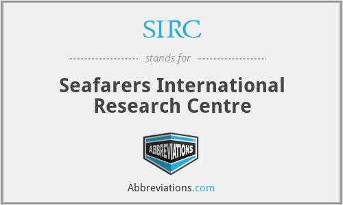 SIRC - Seafarers International Research Centre