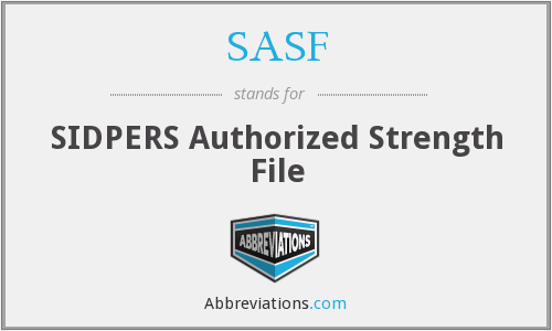 What does SASF stand for?