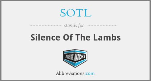 SOTL - Silence Of The Lambs