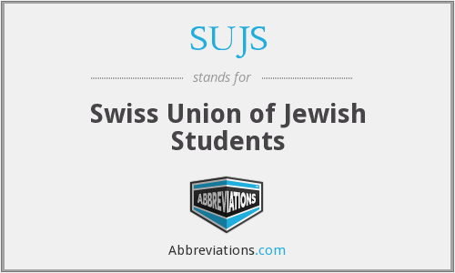 What does SUJS stand for?