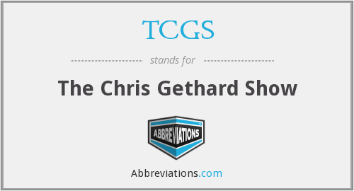 What does TCGS stand for?