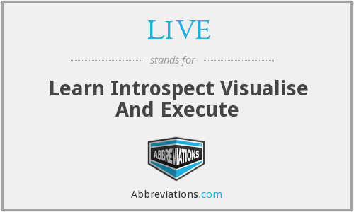 LIVE - Learn Introspect Visualise And Execute