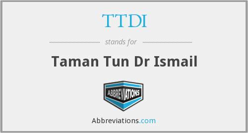 What does TTDI stand for?