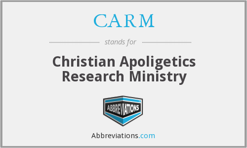 CARM - Christian Apoligetics Research Ministry