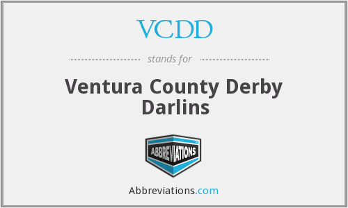 What does VCDD stand for?