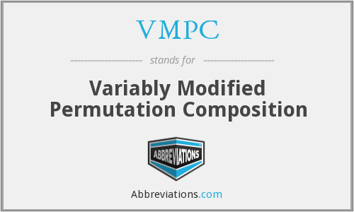 What does VMPC stand for?