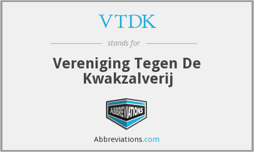 What does VTDK stand for?