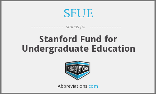What does SFUE stand for?